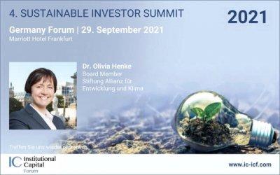4th Sustainable Investor Summit